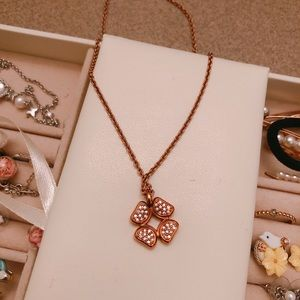 Fossil Clover Necklace - Never wore